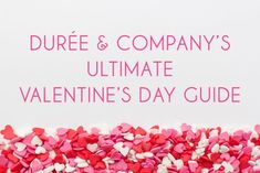 Hopeless romantics unite! ❤️ ❤️ #ValentinesDay is right around the corner and the D&Co #dynamos have got you covered with the ultimate #VDay guide: