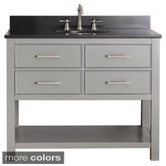 Shop for Avanity Brooks Chilled Grey 42-inch Vanity Combo. Get free delivery at Overstock.com - Your Online Furniture Outlet Store! Get 5% in rewards with Club O!