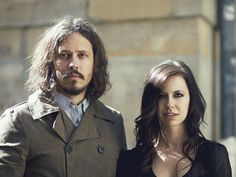 One of the reasons whyThe Civil Warswork so well is the effortless  collaboration between its two members, Joy Williams and John Paul White.  And it had better work well: they travel without a band, playing their  music with just guitar and piano. Plus two beautiful voices.  What I found most unique about their creative process is its genesis. Most  artists start with the music, and the words flow from that. A few, but not  many, start with the words. The Civil Wars begin with both…