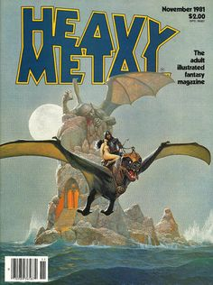 Cover for Heavy Metal Magazine (HM Communications, Inc., 1977 series) #v5#8 [Newsstand]