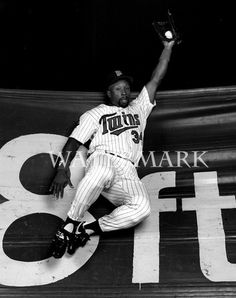 I absolutely love watching the Minnesota Twins. Kirby Puckett is my all time favorite player. I was young when he played but he was a huge influence on me to play and love baseball