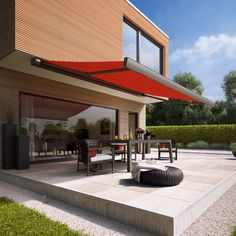 From Brochure to Patio: The Awning Installation Timeline Climate Change Effects, Custom Curtains, Al Fresco Dining, Glass Roof, Outdoor Living, Outdoor Decor, Blinds For Windows, Spring Home, France