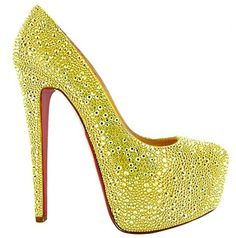 #Christian Louboutin Daffodile...  It would really make me happy if you were to Like, Pin, or Comment. Thanks!