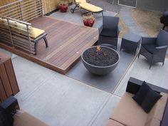 fire pit - backyard
