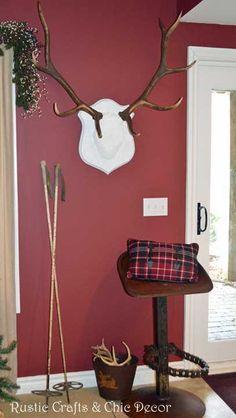 chic elk antlers by rustic-crafts.com