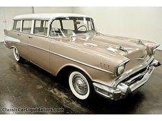 Chevrolet : Other 1957 Chevrolet Wagon 283 3 Speed - http://www.legendaryfinds.com/chevrolet-other-1957-chevrolet-wagon-283-3-speed/