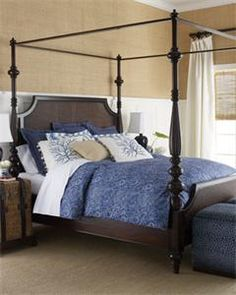 Barclay Butera Lifestyle Sutton Queen Poster Bed$3,329.00                Store:                Horchow