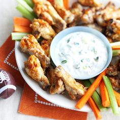 Love wings? Try this heart-healthy way to make them (don't worry, they taste just as good). Serve them as an appetizer or snack on game day.