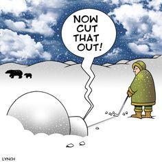 Eskimo cartoons | Cartoon: Golfing eskimo (medium) by toons tagged golf,golfer,eskimo ...