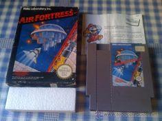 Air Fortress Juego para la Nintendo NES PAL Con Caja en Buen Estado Versión Europea