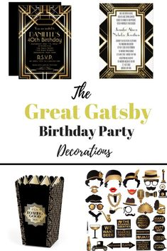 Party like Gatsby wi