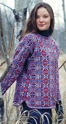 News from Schoolhouse Press Fair Isle Knitting Patterns, Knitting Machine Patterns, Knitting Stiches, Fair Isle Pattern, Knitting Designs, Knitting Yarn, Hand Knitting, Hand Knitted Sweaters, Kinds Of Clothes