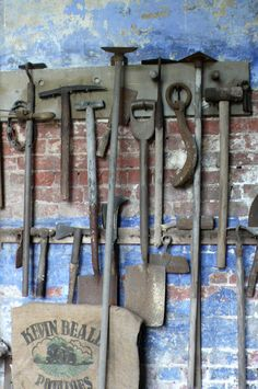 Tool wall inspo - calke abbey