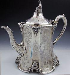 Sterling Silver Teapot. www.teacampaign.ca  Source: see below.
