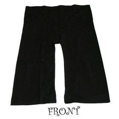 Black THAI COTTON Fisherman Pants...Freesize/Unisex. $20.99, via Etsy.