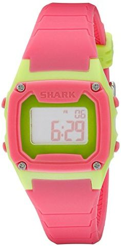Freestyle Womens 10019184 Shark Classic Digital Display Japanese Quartz Pink Watch -- More info could be found at the image url.