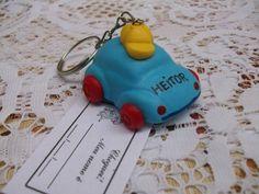 Lembrancinha chaveiro personalizado com nome da criança. Fazemos na cor que desejar. R$ 1,60