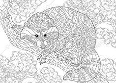 die 51 besten bilder von mandala tiere | coloring pages, coloring books und vintage coloring books