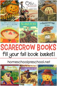 The Best Scarecrow Books for Kids to Read This Fall Autumn is the perfect time to read about scarecrows with your preschoolers. This collection of scarecrow books for kids is a great place to start! Autumn Activities For Kids, Fall Preschool, Preschool Books, Preschool Themes, Montessori Preschool, Thanksgiving Activities, Thanksgiving Crafts, Kid Activities, Halloween Halloween