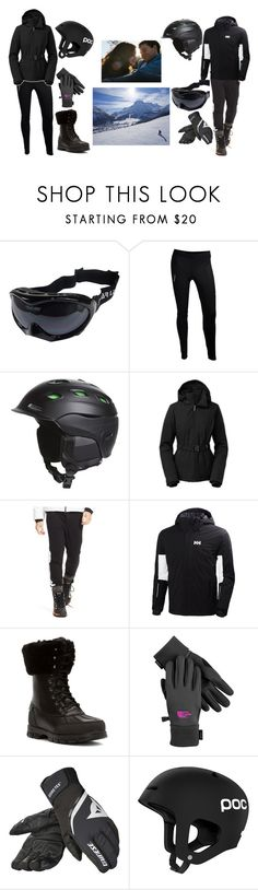 """Ski Trip"" by melissa-bvb ❤ liked on Polyvore featuring Swix, Smith Optics, The North Face, Polo Ralph Lauren, Helly Hansen, Lauren Ralph Lauren, Dainese and POC"