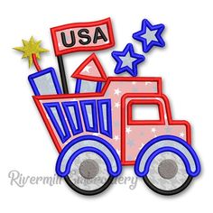 Applique Designs, Machine Embroidery Designs, Dump Truck, Third Birthday, Kids Rugs, Things To Sell, Email Address, Software, Etsy