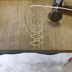I love when someone mixes materials in a new way! Kevin Manville is REALLY stitching slabs together with copper wire. - - I love when someone mixes materials in a new way! Kevin Manville is REALLY stitching slabs together with copper wire.