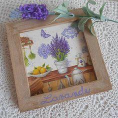 tinuszDecorArt / Obrázok levanduľa