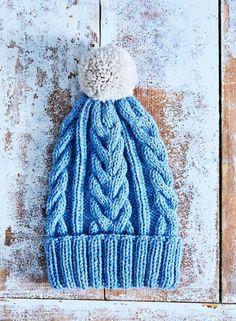 Helppo palmikkopipo – katso ohje!   Meillä kotona Yarn Inspiration, Knitting Charts, Mittens, Knitted Hats, Diy And Crafts, Knit Crochet, Winter Hats, Beanie, Embroidery