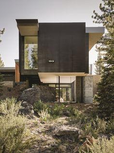 Benvenuto House, Truckee, Faulkner Architects