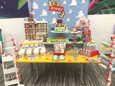 Toy Story / Candy Bar / Party Theme