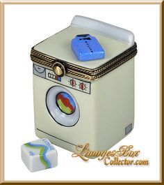 Washing Machine w/ Detergent (Beauchamp)