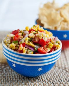 Grilled Sweet Corn Salsa | Neighborfoodblog.com