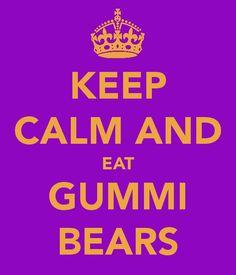 Eat Gummi Bears