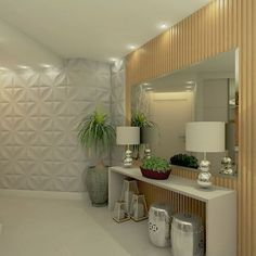 Open Entryway, Entryway Decor, Foyer Design, House Design, Decoration Hall, Wall Decals For Bedroom, Interior Decorating, Interior Design, Luxurious Bedrooms