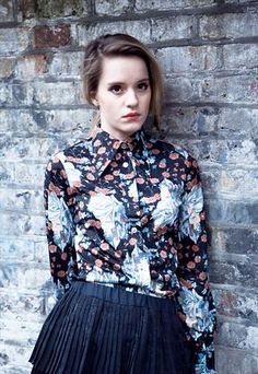 Vintage 70s oriental print blouse from Mint Vintage £30