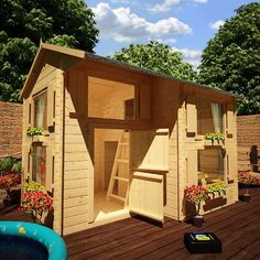 DblStory Shed - Rabbit Shed Plans | Royal 10ft x 8ft