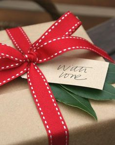 holiday presents sent — with love.