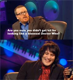 Never Mind the Buzzcocks - Frankie Boyle on Noel Fielding British Humor, British Comedy, Funny Memes, Hilarious, Jokes, Frankie Boyle, Scotland Funny, Funny Comedians, The Mighty Boosh