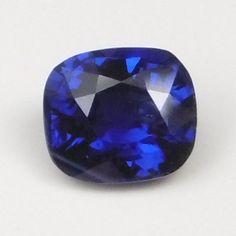 Sapphire Blue 2.10ct 7.43x6.60mm cushion Blue Sapphire, Cushion, Cushions, Pillows