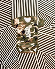 Army Baby Bodysuit, Camouflage Baby Bodysuit, Baby Soldier, Little Soldier, Army Onesie, Baby Camo, Military Baby Gift, Army Baby Clothes by GagaKidz on Etsy https://www.etsy.com/listing/471323370/army-baby-bodysuit-camouflage-baby