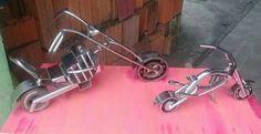Motos em aço inox