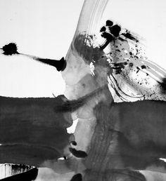Hua Liu — Abstract Ink Painting_Untitled No.6
