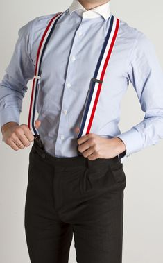 Vintage 1930s Suspenders 30s 40s Mens Hickok Braces