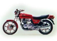 kawasaki Z1000J 1981