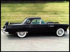 1956 Ford Thunderbird by jannyshere
