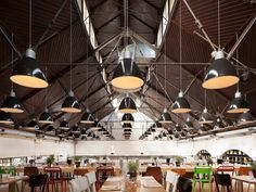 Mercat restaurant is located in the up-and-coming Amsterdam port area.
