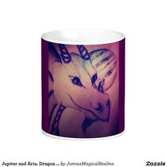 Jupiter and Aria. Dragon and Fairy.Mug Classic White Coffee Mug