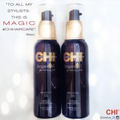 Hair MAGIC! #CHIHaircare Chi Hair Products, Beauty Products, Beauty Skin, Hair Beauty, Argan Oil Benefits, Hair Hacks, Hair Tips, Moringa Oil, Beauty Make Up