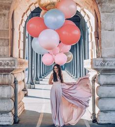 36 Inch Jumbo Round Coral Balloon- 36 Inch Giant Balloon, Coral Bridal Shower, Wedding Balloons, Bri - New Site Bridal Shower Balloons, Wedding Balloons, Birthday Balloons, Rainbow Balloons, Giant Balloons, Latex Balloons, Balloons Photography, Photo Balloons, Gender Reveal Decorations