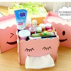 Buy 'Cuteberry – DIY Tissue Box Desk Organizer' with Free International Shipping at YesStyle.com. Browse and shop for thousands of Asian fashion items from China and more!